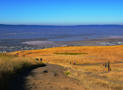 Mission Peak Hike, Bay Area-California: