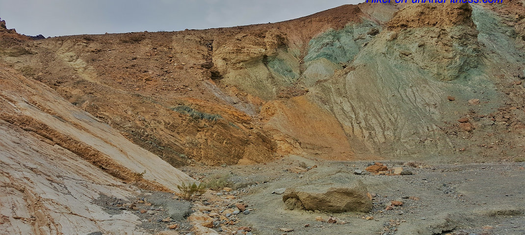 Mosaic canyon hike, Death valley