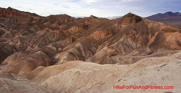 Zabriske point, Artists palette, Badwater basin, Devils golf course, Dantes view, Mosaic canyon, Natural bridges Death valley, hike for fun and fitness, Mesquite sand dunes hike, california hike bridges,