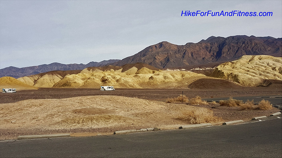 Harmony Borax works, Zabriske point, Artists palette, Badwater basin, Devils golf course, Dantes view, Mosaic canyon, Natural bridges Death valley, hike for fun and fitness, Mesquite sand dunes hike, california hike bridges,