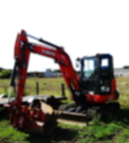 Kubota earth moving equipment
