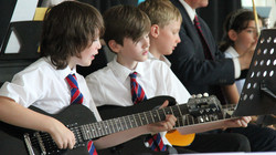group music lessons students peform