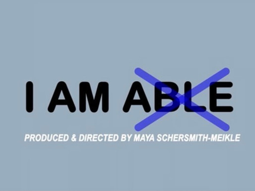 I Am Able - A Mini Documentary Of Me Sharing My Story