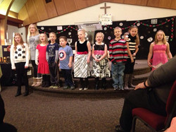Cornerstone children church Christmas