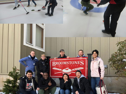 Winter sport lab outing to the curling lanes!
