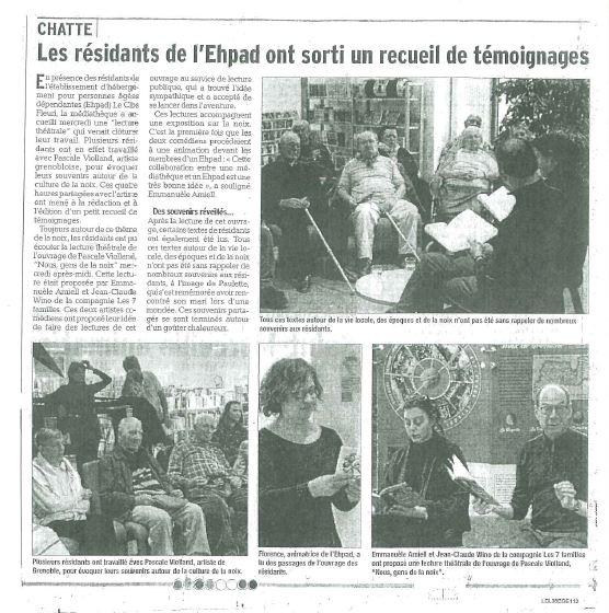 Nous, gens de la noix à Chatte 03-16