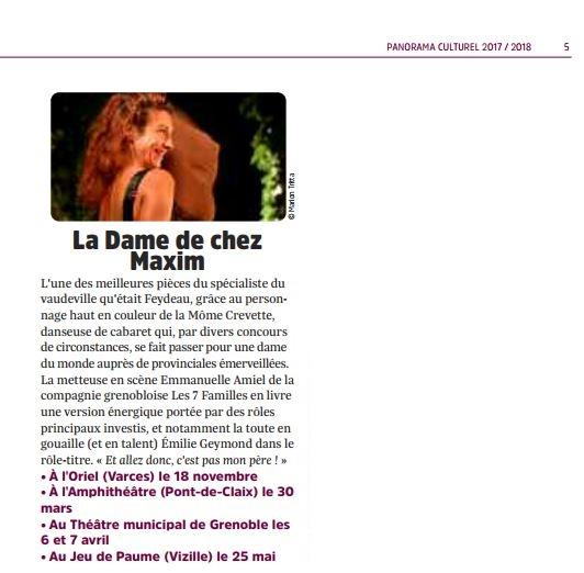 Petit bulletin panorama culturel 17