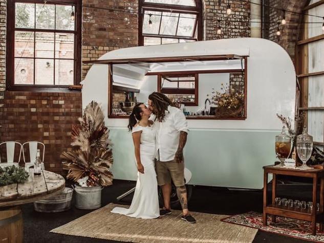 caravan bars for hire