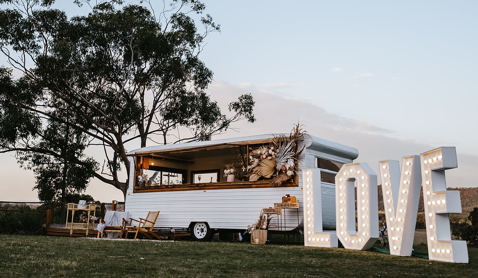 CARAVAN BARS FOR HIRE HUNTER VALLEY NSW