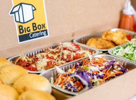 Outside the 9 to 5 with Scott and Stacie from Big Box Catering