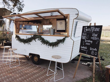 5 reasons why you need a caravan bar at your wedding!