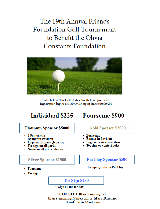 19th Annual Friends Foundation Golf Tournament