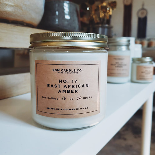 16 oz Soy Candle (More Scents)
