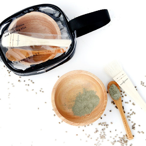 Bowl, Spoon and Brush Set