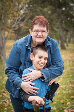 Cody Payette and Grandma Lucy 2016 is Cody's 17th Birthday February 6.