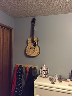 Porter's guitar 2014