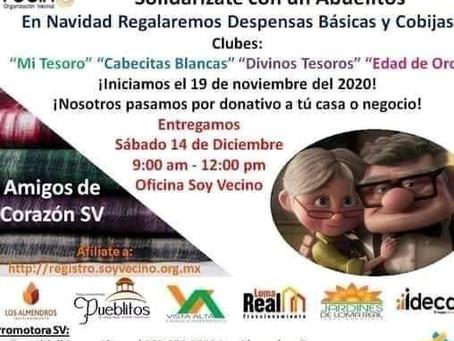 "Campaña ""Solidarizate con un Abuelito"""