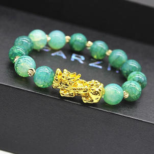 Feng Shui Pixiu Wealth Bracelet available in different colors