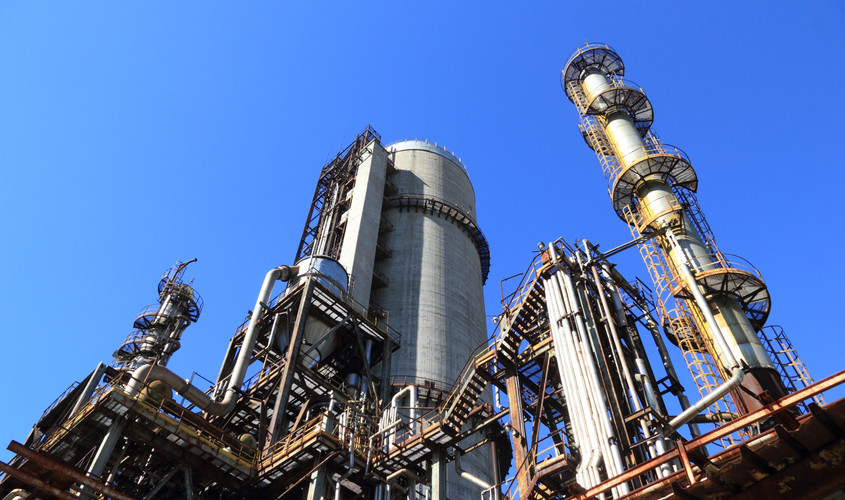 view-of-factory-against-blue-sky-257700.