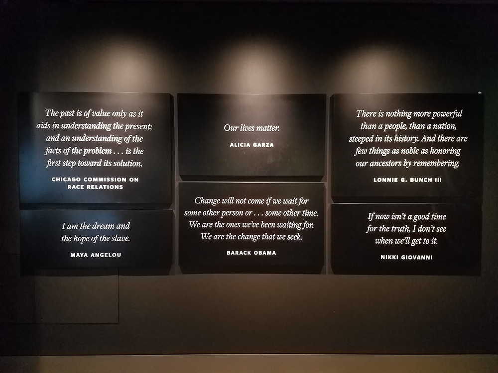 Quotes from the NMAAHC