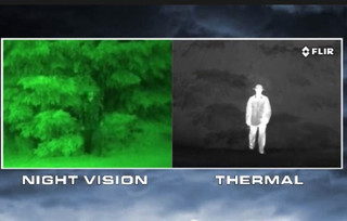 Thermal vs Night Vision Cameras