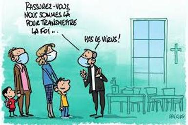 CATÉCHÈSE : TRANSMETTRE LA FOI … PAS LE VIRUS !