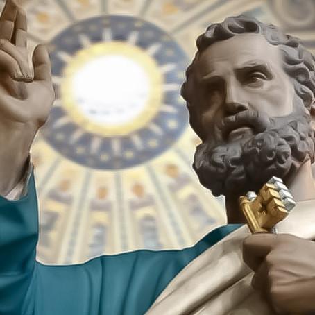 5 palabras bíblicas que demuestran el primado de Pedro