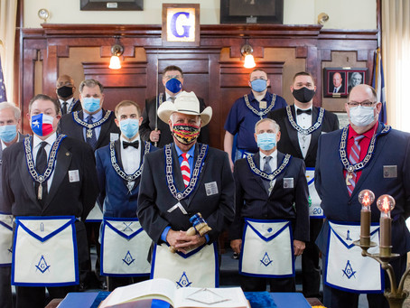 Tannehill Lodge Hosts 172nd Installation of Officers