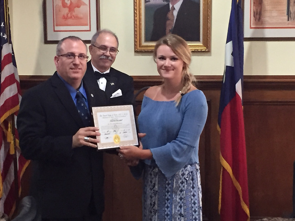 Tannehill Masonic Lodge Awards Scholarship