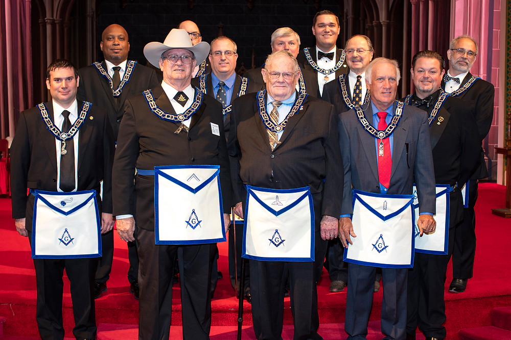 Tannehill Officers 2018 | Masons of Dallas
