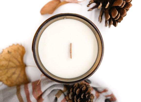 fall candle trio