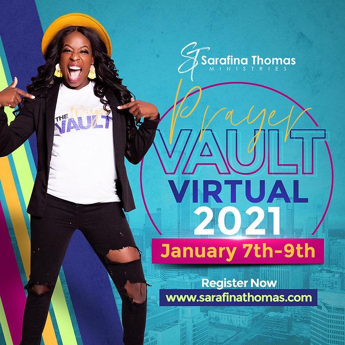 Sarafina Thomas The Prayer Vault VIRTUAL