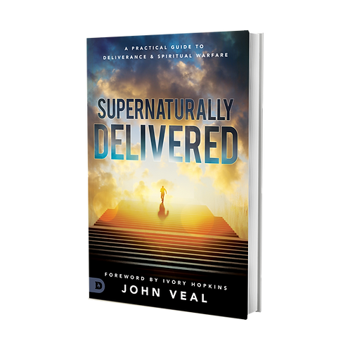 SUPERNATURALLY DELIVERED UNSIGNED BOOK (Under Destiny Image Publishing)