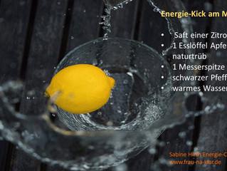Energie-Kick am Morgen