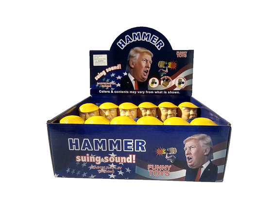 Trump Talking Hammer 12ct Display