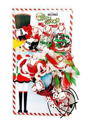 SCUNCI GIRL ACCESS 28 PCS CHRISTMAS SET