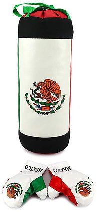 Mexico Kids Punching Bag & Gloves