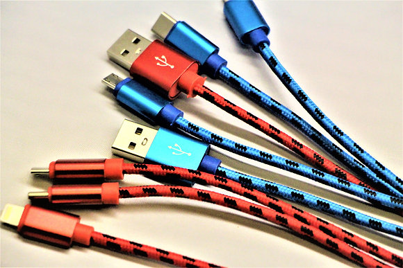 A.S.K 10ft All-in-One Mesh Cable