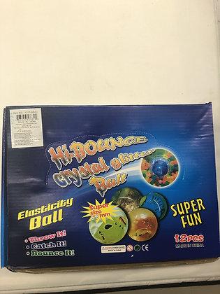 Hi-Bounce Crystal Glitter Ball