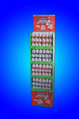 DADA SURPRISE EGGS FLOOR DISPLAY 384 CT