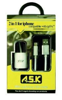 A.S.K Hi-Speed iPhone Charger & Lightning Cable