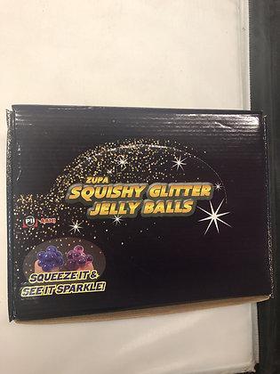 Squishy Glitter Jelly Balls