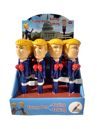 Trump Boxing Talking Pen 12ct Display