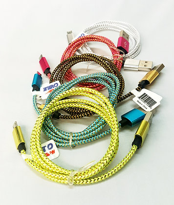 Pattern Wire Hi Speed Micro USB Cable