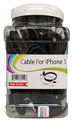 iPhone 5 and up -Thick Data Cable Jar