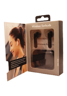 Bluetooth Wireless Earbuds with Charging Case- 4 Colors