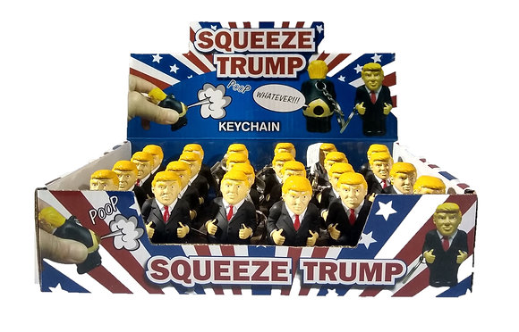 Trump Poopy Key Chain 24ct Display
