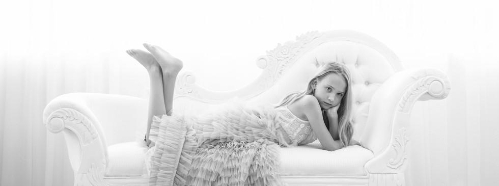 Ava Pose. Creative Children's Photography Studio shoot, Dream Alice Photography & Art, Gold Coast