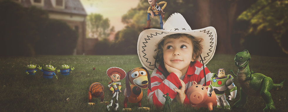Toy story. Creative Children's Photography fantasy photoshoot, Dream Alice Photography & Art, Gold Coast