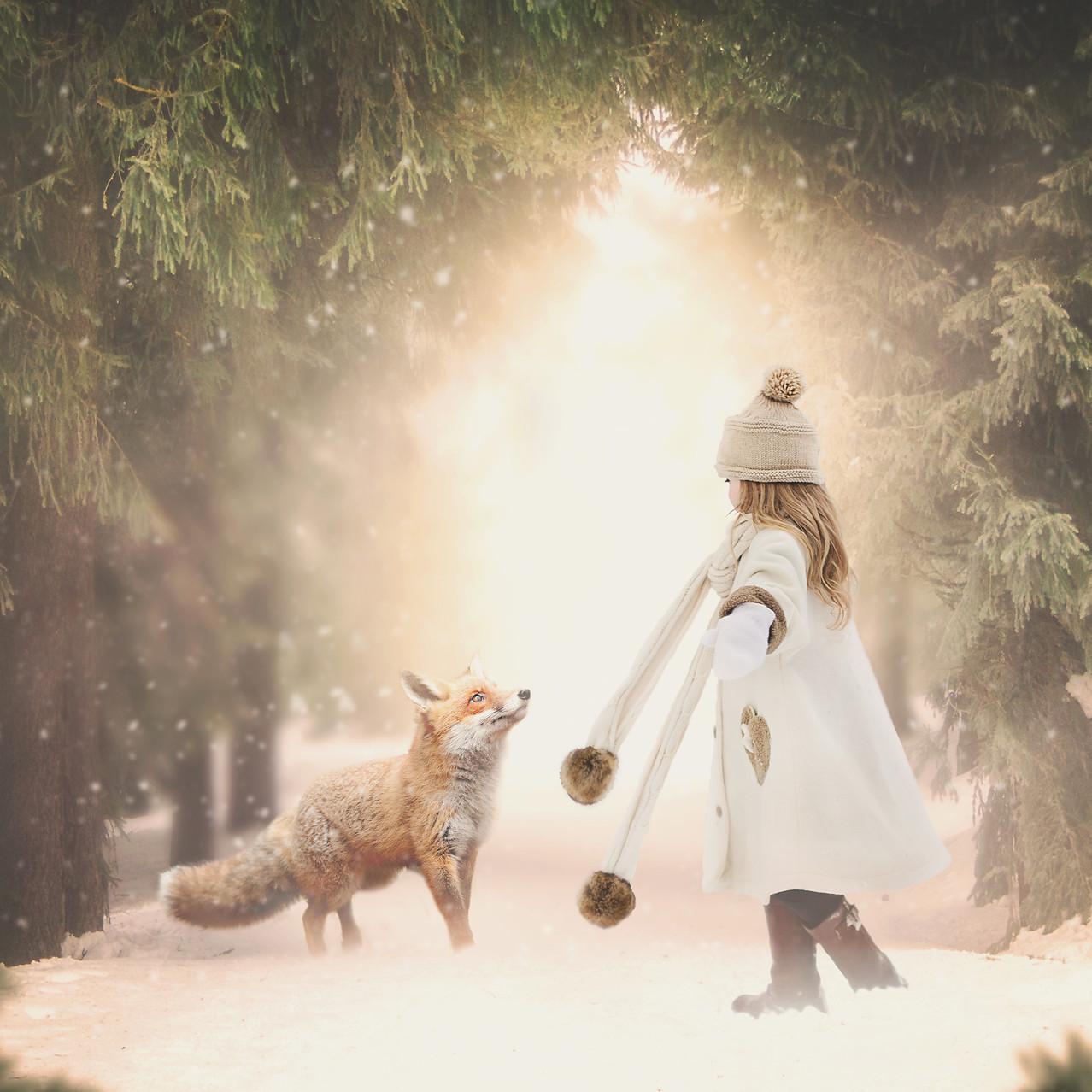 winter dance. Creative Children's Photography fantasy photoshoot, Dream Alice Photography & Art, Gold Coast